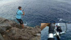 Shore jigging ve durdurulamayan balık