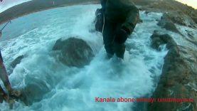 Çanakkale Saros'da Spin At Çek Levrek Avı
