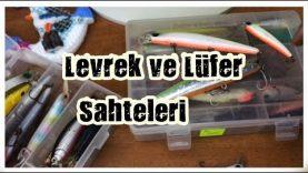 Levrek Lüfer için Sahte Balıklar ve İğne Değiştirme